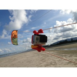 Red DK4 Kitesurfing Line Mount